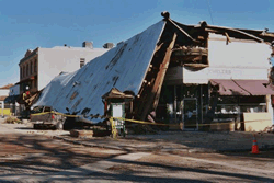 Earthquake Damage - FEMA File Photo